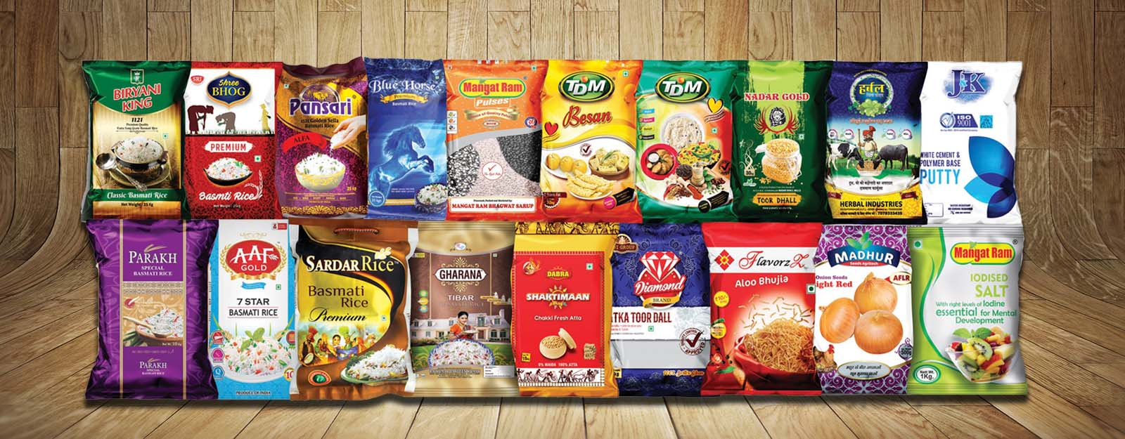 Giriraj Polymer Food Packaging Pouches Printed Bopp Bag Manufacturer Supplier In Delhi India